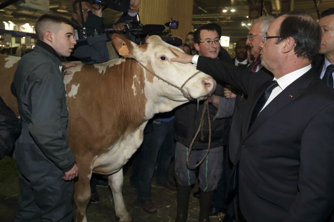 Hollande and friend