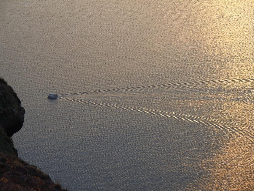evening water patterns