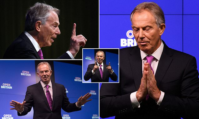 Tony Blair Gives Pro-Eu Keynote Speech